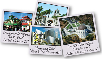Chinatown, Union Station, Disney Music Hall, Griffith Observatory